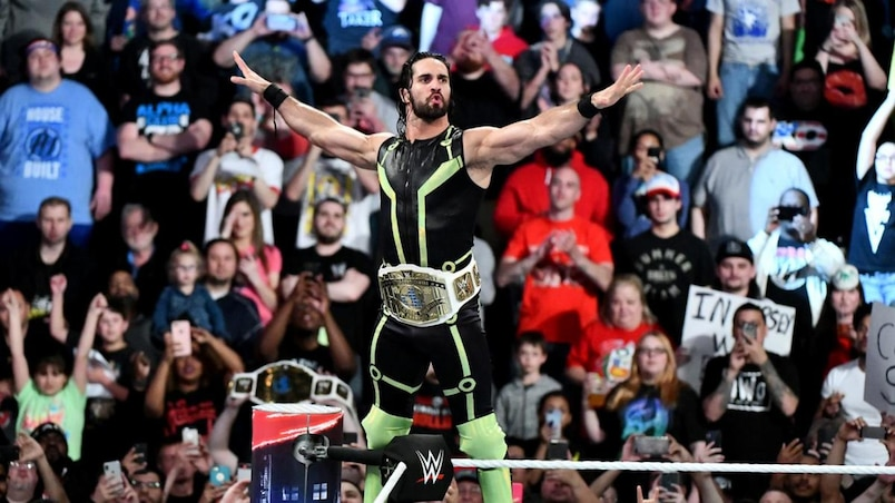 Cette semaine dans l'univers de la WWE: Seth Rollins, le soleil d'une semaine assez terne