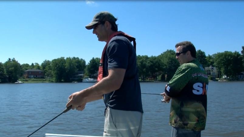 Pêche à l'achigan au Lac St-Louis