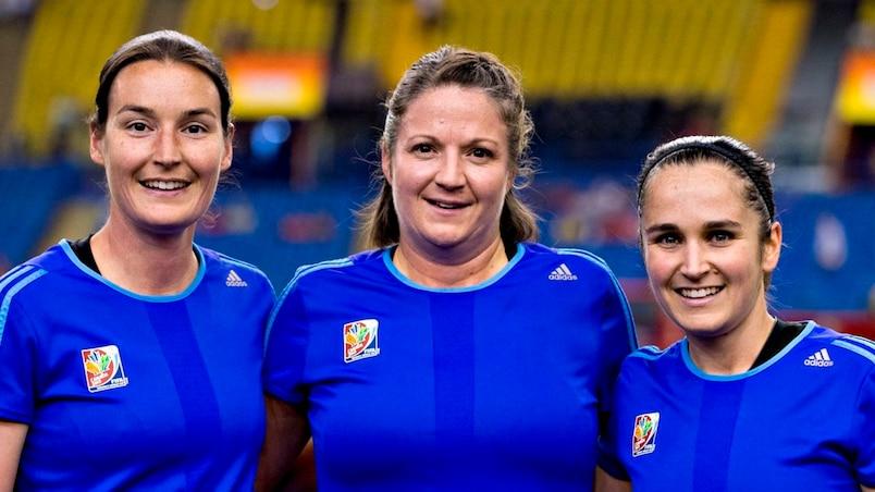 Un trio d'arbitres canadiennes pour la finale de soccer