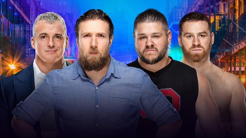 Cette semaine dans l'univers de la WWE: Kevin Owens et Sami Zayn, confirmés pour WrestleMania!