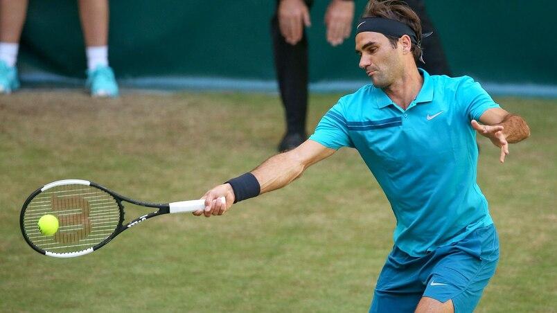 Roger Federer atteint les quarts à Halle