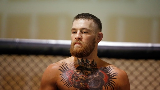 SPO-UFC-MMA-UFC-FEATHERWEIGHT-CHAMPION-CONOR-MCGREGOR-GYM-DAY