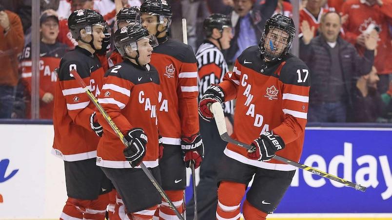 2015 IIHF World Junior Championship - Denmark v Canada