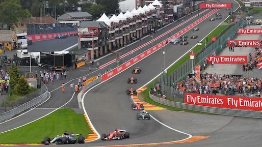 F1: le GP de Belgique à Spa-Francorchamps prolongé jusqu'en 2021