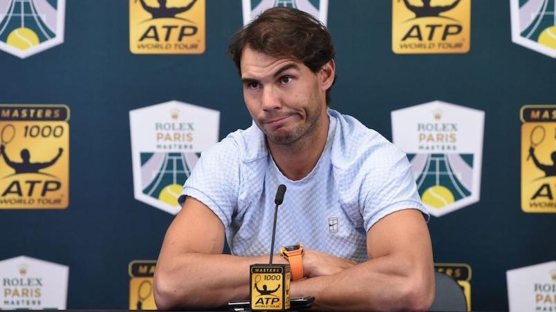 Rafael Nadal forfait pour le Championnat de fin de saison