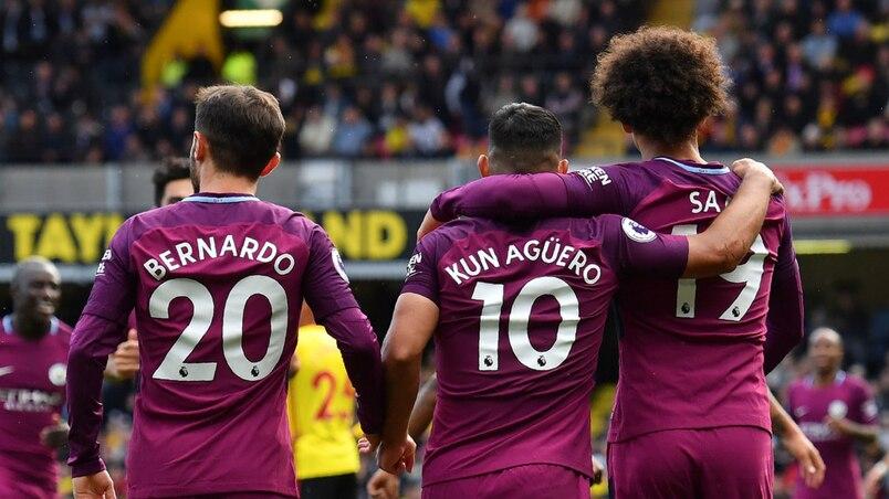 Manchester City est terrifiant en Angleterre