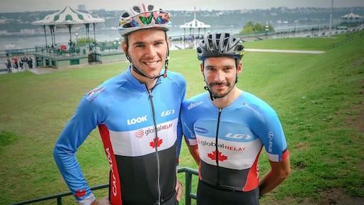 Antoine Duchesne et Bruno Langlois