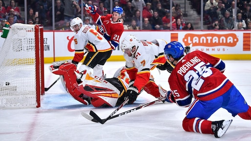 Flames c. Canadiens