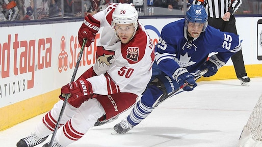 Arizona Coyotes v Toronto Maple Leafs