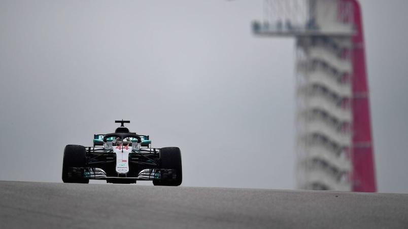 Hamilton domine, Stroll loin derrière