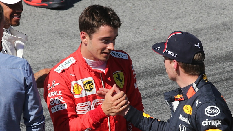 Une rivalité grandissante entre Leclerc et Verstappen