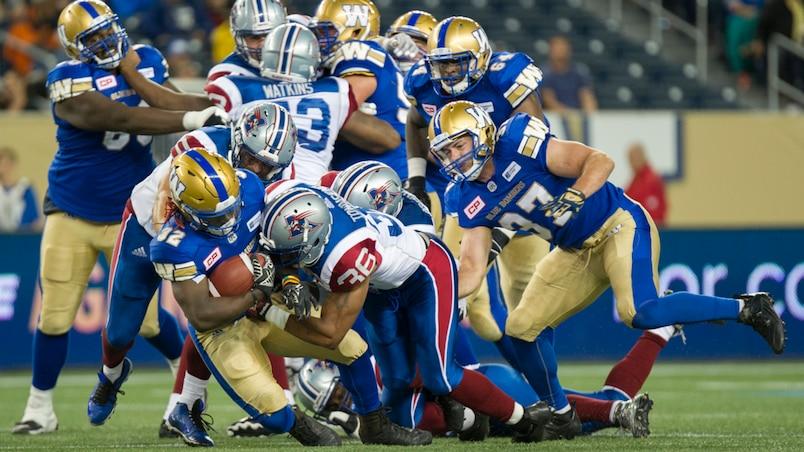 Montreal Alouettes VS Winnipeg Blue Bombers