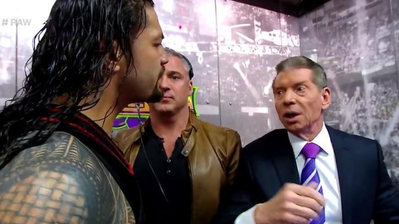 Cette semaine dans l'univers de la WWE : Reigns c. Lesnar, trop peu, trop tard