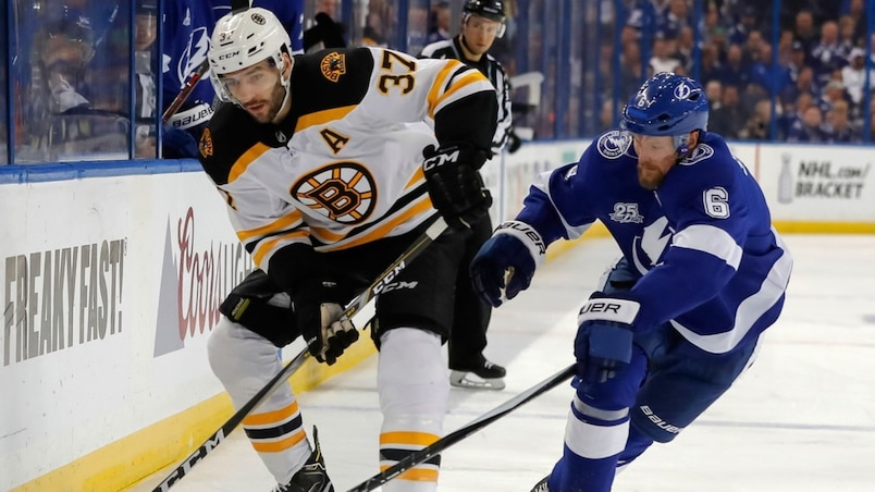 Boston Bruins v Tampa Bay Lightning