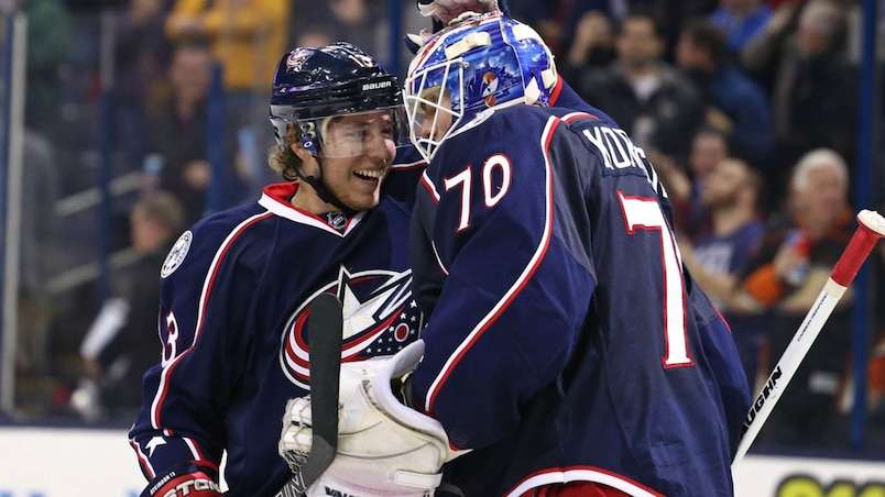 NHL: Anaheim Ducks at Columbus Blue Jackets