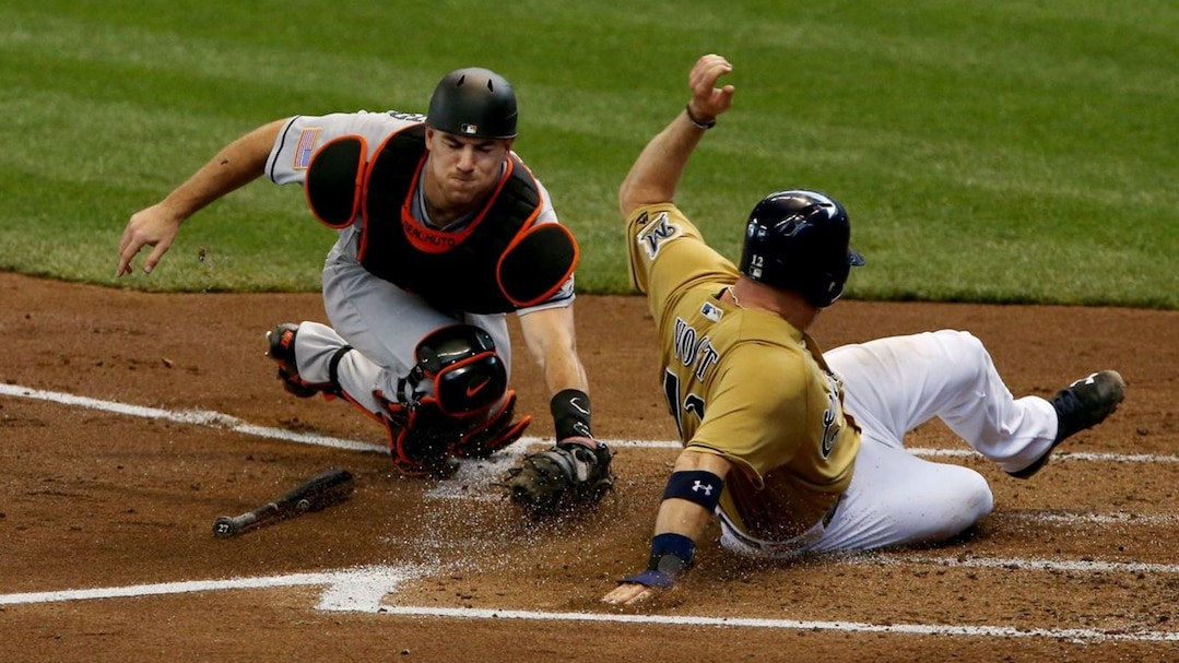 Miami Marlins v Milwaukee Brewers