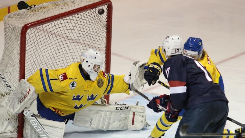 Les Américains marquent 10 fois contre la Suède
