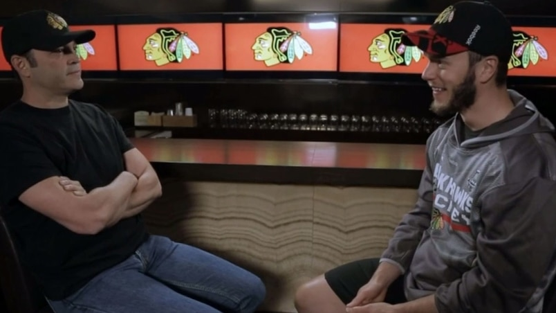 Toews interviewé par Vince Vaughn