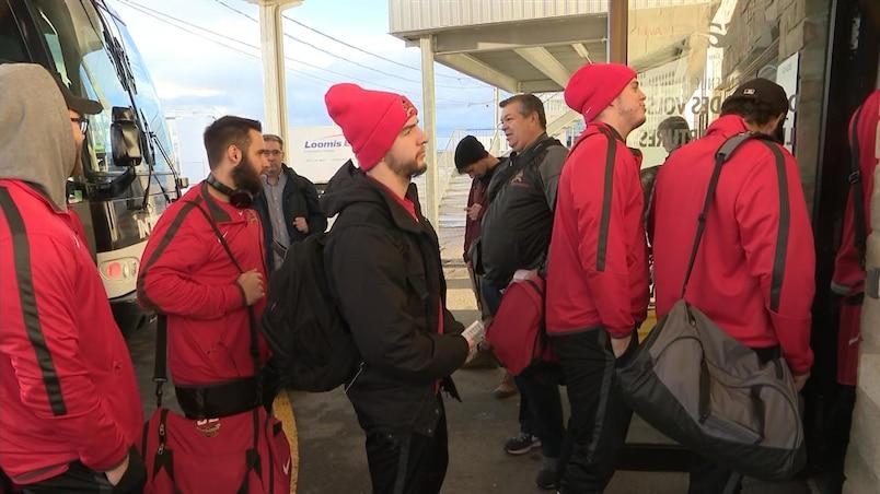 Le Rouge et Or s'envole vers Calgary