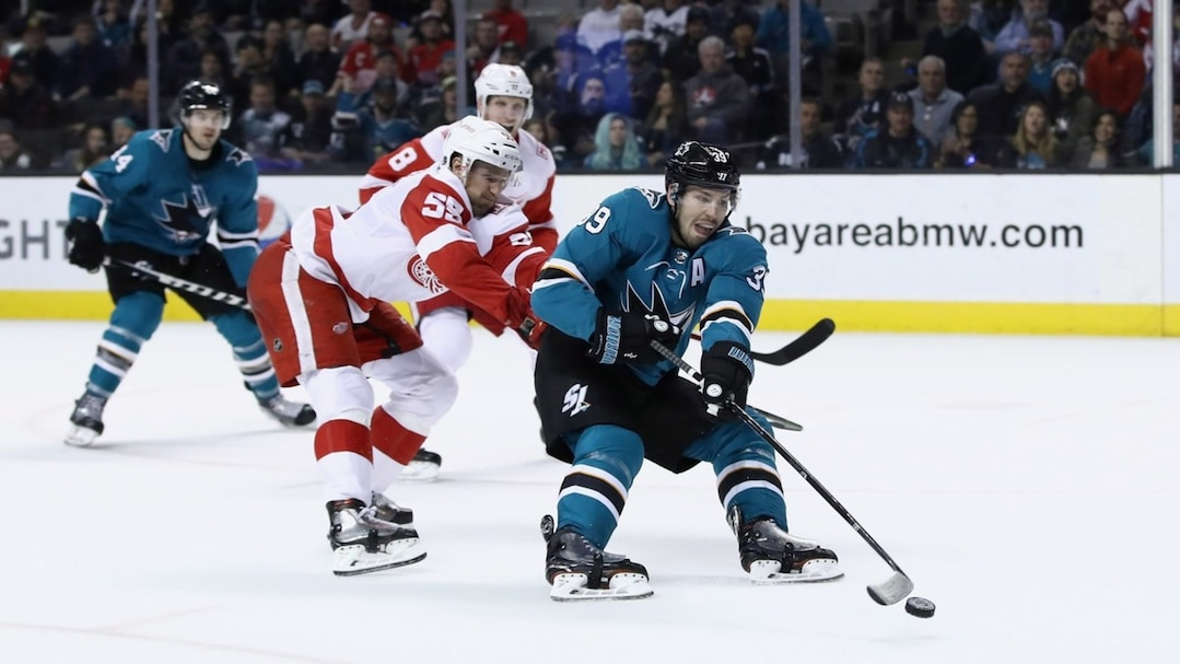 Detroit Red WIngs v San Jose Sharks