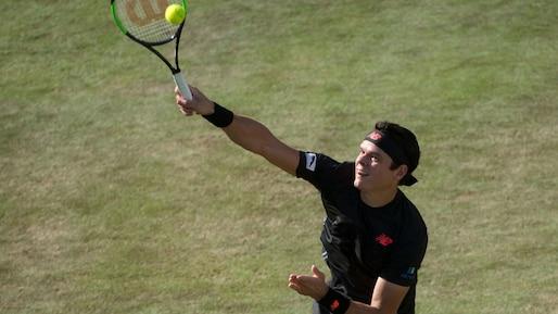 Milos Raonic en demi-finale à Stuttgart