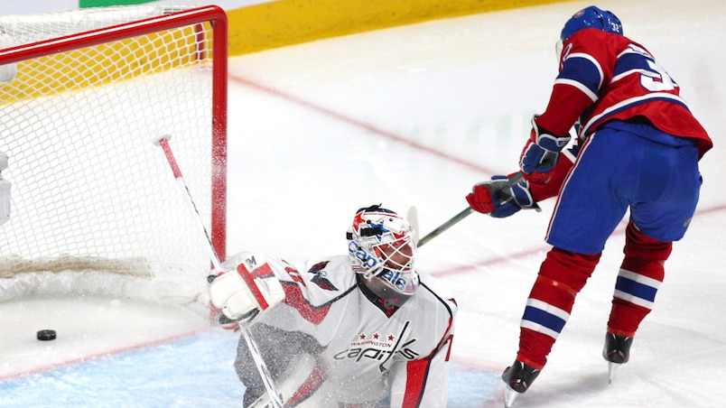 NHL: Washington Capitals at Montreal Canadiens