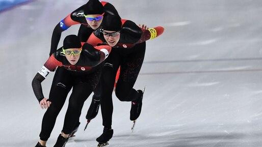 Olympiques: le Canada poursuit sa route au relais en longue piste