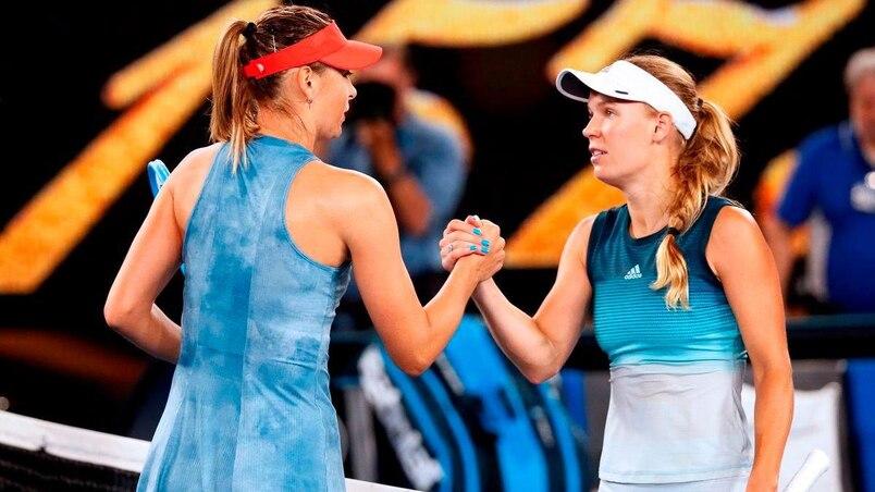 Australie: Maria Sharapova stoppe Caroline Wozniacki