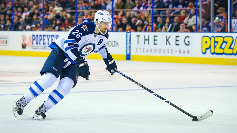 NHL: Winnipeg Jets at Edmonton Oilers