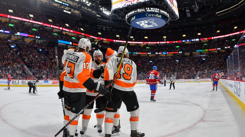 Flyers c. Canadiens