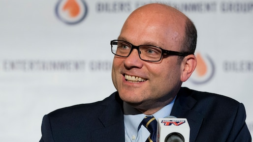 Oilers new GM