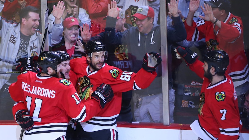 NHL: Stanley Cup Playoffs-Anaheim Ducks at Chicago Blackhawks