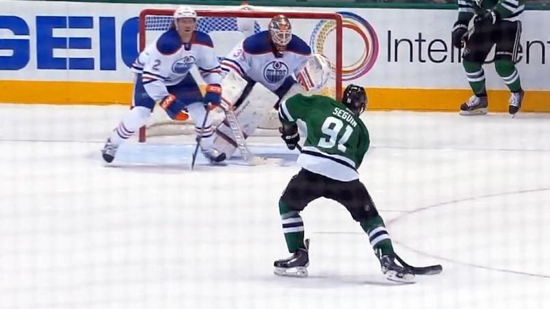 Trop facile pour Seguin contre les Oilers