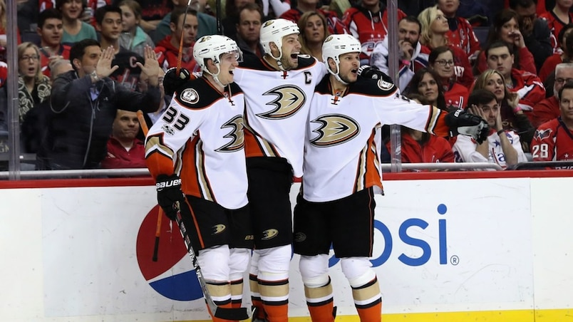 Anaheim Ducks v Washington Capitals