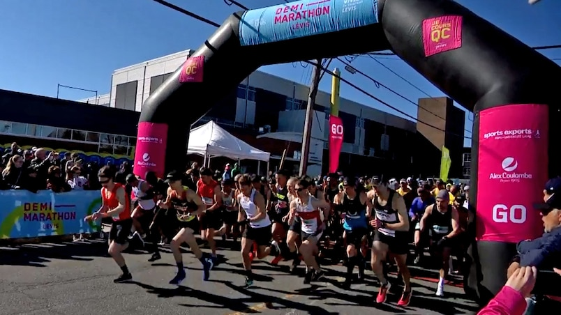 Un succès monstre pour le demi-marathon de Lévis