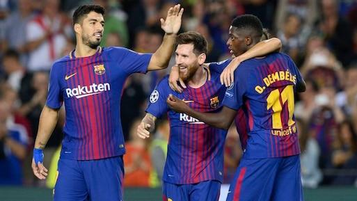 Le Barça se venge de la Juve