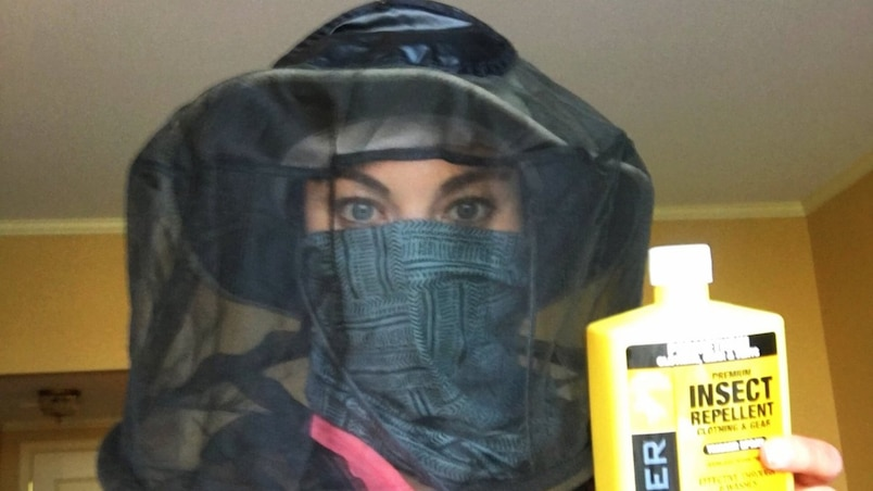 Hope Solo se protège du virus Zika