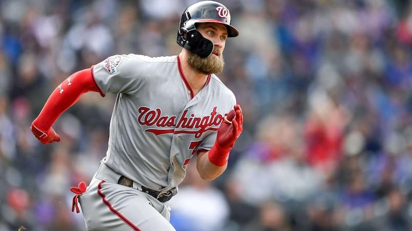 Un court séjour chez les Dodgers pour Bryce Harper?