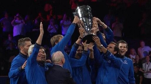 Milos Raonic s'incline, l'Europe remporte la Coupe Laver
