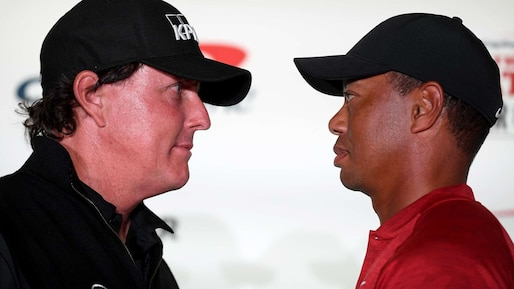 Tiger Woods et Phil Mickelson: duel de géants à 9 millions $