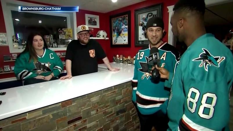 Les plus grands partisans des Sharks au Québec!