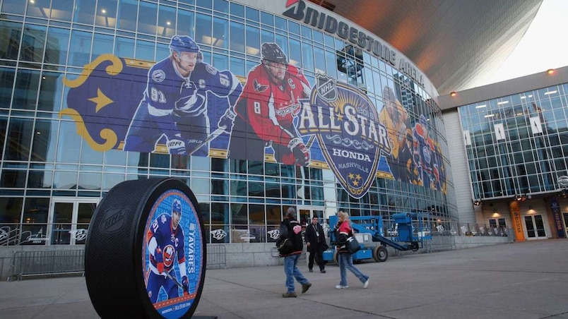 2016 NHL All-Star Arrivals