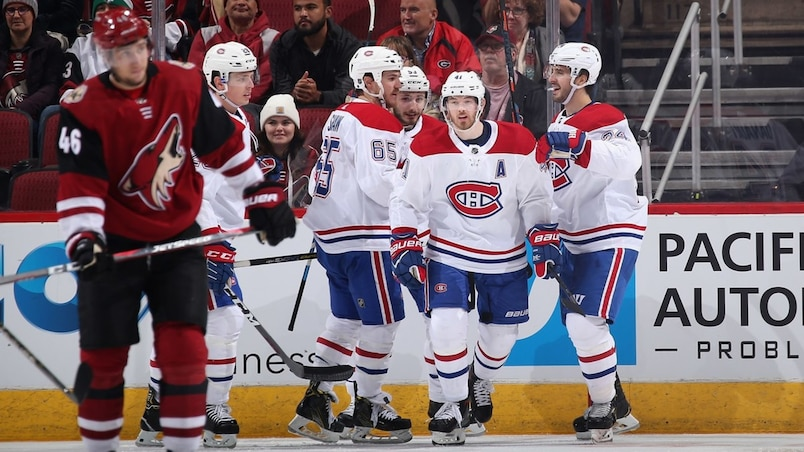 Montreal Canadiens v Arizona Coyotes