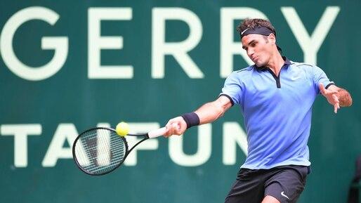 Roger Federer se qualifie pour la finale à Halle