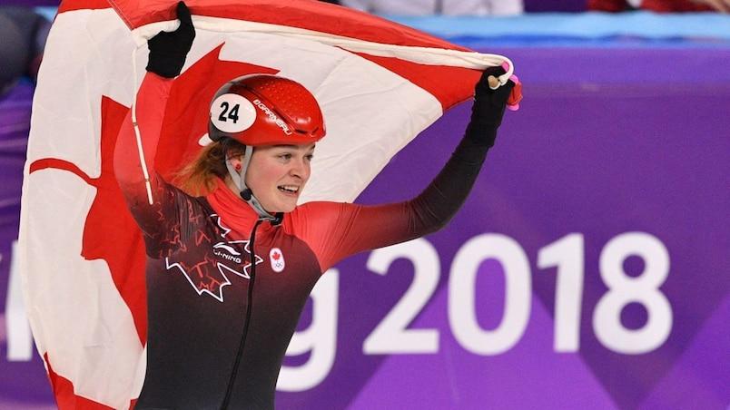 Kim Boutin médaillée d'argent au 1000 m féminin