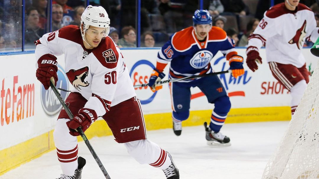 NHL: Arizona Coyotes at Edmonton Oilers