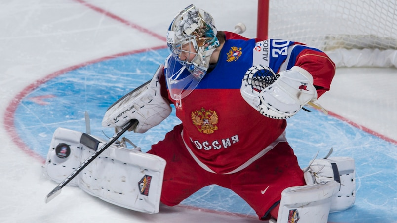 SPO-HOCKEY-SUEDE -RUSSIE