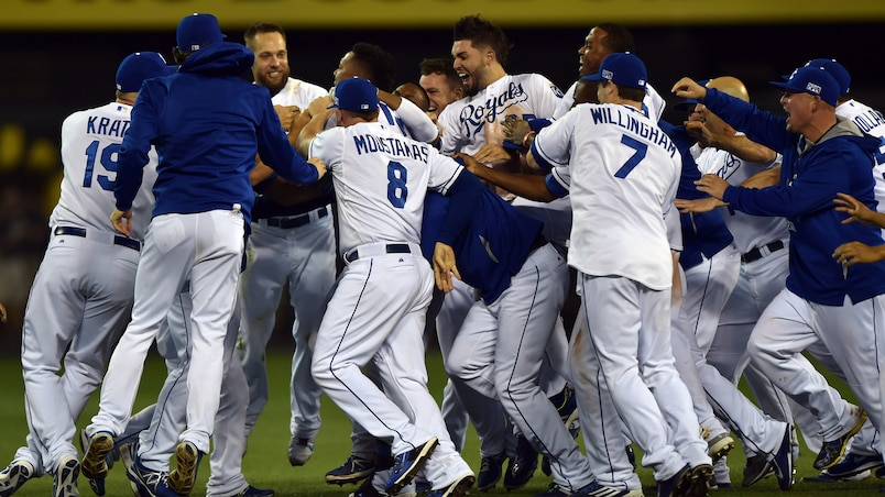 MLB: AL Wild Card-Oakland Athletics at Kansas City Royals