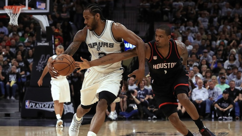 SPO-BKO-BKN-HOUSTON-ROCKETS-V-SAN-ANTONIO-SPURS---GAME-ONE