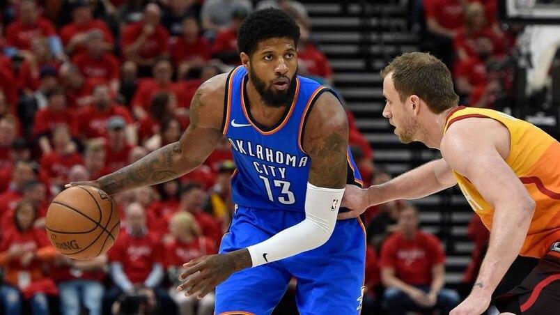 Oklahoma City Thunder v Utah Jazz - Game Three